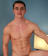 EnglishLads.com Photo Shoot - Logan Hardy - Straight Young Athlete Logan Strips & Shows his Hard Uncut Erection & Fingers & Dildo's his Hole!