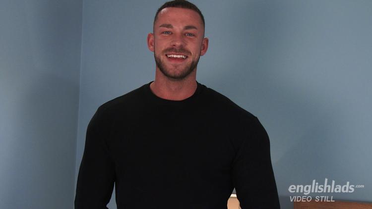 Handsome Smiley Guy Cums