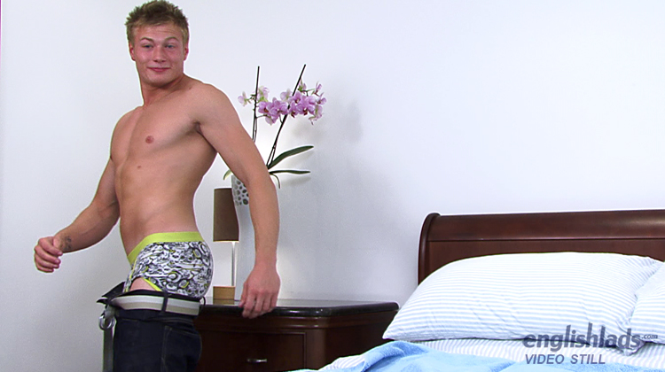 Lad Receives Massage