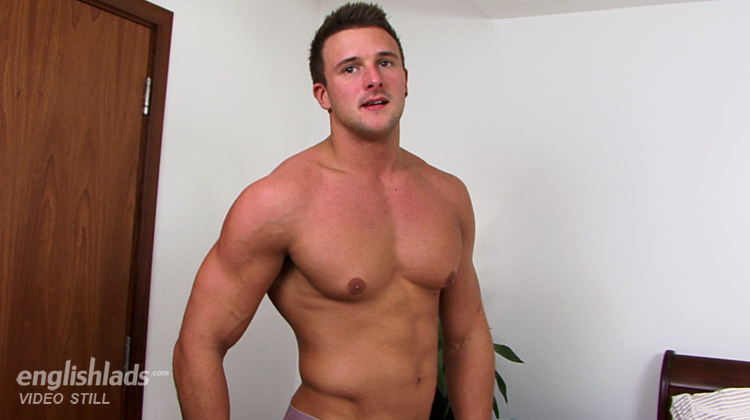 English Lads Drew Daniels Porn - Hunky Straight Rugby Stud Drew Daniels gets Manhandled & Wanked to Cum Shot