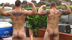 Str8 Mates Bailey & Andy in an Uncut Muscle Showdown!