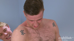 Straight Lad Jonas gets his 1st Suck from a Man and Wanks his 1st Cock!