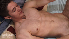 Cheeky Young Straight Pup Cole Shows his Muscular Hairy Body & Rock Solid Uncut Cock!