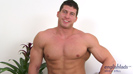 Big Muscular Body Guard Connell - Straight Hunk Plays with Dildos!