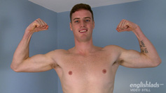 Straight, Tall & Muscular, Dan Shows us his Massive Uncut Cock - Its Thick as Well as Long!