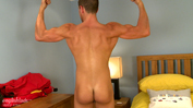 Straight Welsh Lad Dean Can't Wait to Show Off His Ab Slapping Erection!