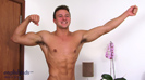 Muscular Hunk Drew Daniels - Bulging Body & A Long Thick Uncut Cock!