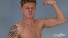 Straight Lad Jack Shows Off His Hot Body and Huge Uncut Cock!