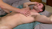 Straight Uncut Stud Jamie gets Manhandled for 1st time - by Jack!