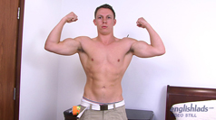 Muscular PT Jacob - Straight Hunk & One Very Hard Uncut Cock!