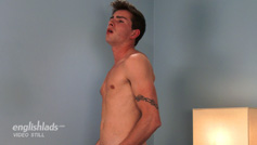 Young Straight Teenager Joey Foxton Shows His Rock Hard Uncut Cock & Squirts for England!