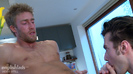 Tall & Athletic Young Straight Hunk Josh gets his First Man Blow Job - and a Good Rimming!