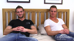 Str8 Hairy Hunk Bezza - First timer Playing with another guys cock