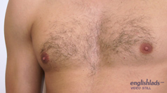 Hairy Defined Hunk Phil - Stripped Bare and Shoves a Toy In!