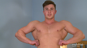 Muscular Teddy Strips and Shows Off his Fit Body and Hard Uncut Cock!