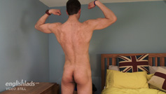 Straight Pup Toni is Tall, Lean and Keen to Show Us his Rock Hard Uncut Cock!
