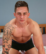 Englishlads.com: Straight Lad Hugo Wanks his Big Uncut Cock & Invites his Mate Noah for a Guest Appearance!