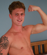 Englishlads.com: Straight Young Footballer Jack is Back to Show his Slightly Hairy Hole & Massive Uncut Cock!