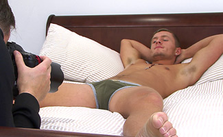 BONUS VIDEO - Athletic Young Aaron's Video shot during his First Photoshoot