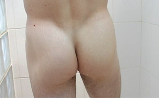 Alex's shower & wank