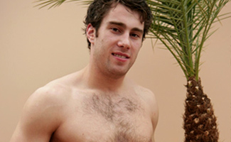 Hairy str8 footballer Alex