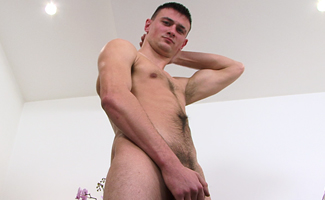 Tall, Straight & Hairy in all the Right Places - Andy and his Big Uncut Cock