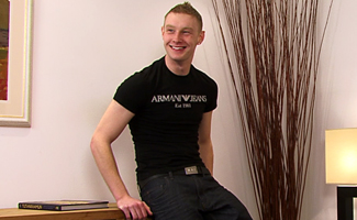 Englishlads.com: Blond Straight Builder Shane Gets his First Wank & Suck from the Expert's Touch!