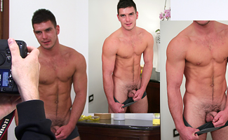Englishlads.com: BONUS VIDEO - Hairy Cheeky Hung  - Does it get much better!?