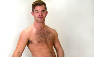 Englishlads.com: Bonus Video of Travis's Photo Shoot - Straight Young Hairy Stud Shows off His Muscular Body & Uncut Cock!