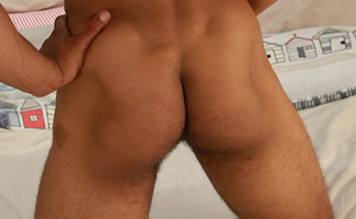 Muscular and Ripped Young Pup Casey Show us his Large Erect Uncut Cock & Shoots Loads!