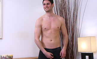 Str8 Snowboard Instructor Charlie - Shows us his whopping uncut one!