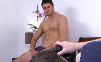 BONUS VIDEO - Hunky Snowboarding Ace In Charlie's toy - Photoshoot video