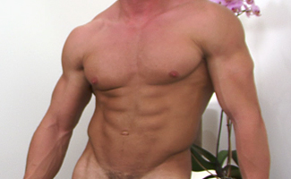 Bonus Video of Muscular Hunk Connell's First Photo Shoot