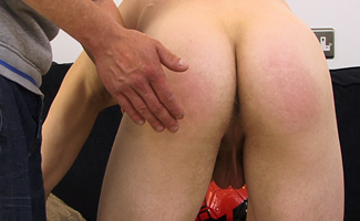 Str8 hunk David's Spank, Suck & Finger!