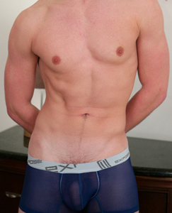 Englishlads.com: Blond Young Muscular Stud Dan - A Little Anal Tease!