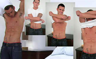 Jay Hall BONUS VIDEO - Watch the video of Str8 Hunk Jay's Photoshoot