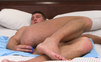Connell Bracken Bonus Video of Connell's Photo Shoot Where he Fingers & Toys his Hole!
