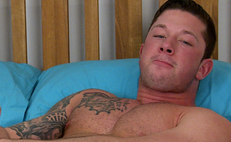 James Hollister Bonus Video of James Hollister's Photo Shoot - Showing Off His Uncut Cock & Hairy Body!