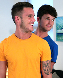 Englishlads.com: Brothers Jay and Oli Hall Drop in & Show us What They do at Home all the Time!