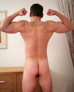Englishlads.com: Carl is Doug's Older Brother & Shows off The Family Trait - Both Have Over Sized Uncut Cocks!