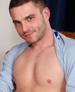 Englishlads.com: Fitness lad Ben shows off his muscular body and hard cock