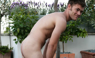 Danny Russell Hairy str8 hunk Danny
