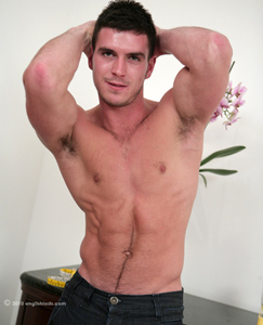 Englishlads.com: Straight Boxing Pro Patrick - Muscular and Ripped Hunk - Long & Thick Cock!