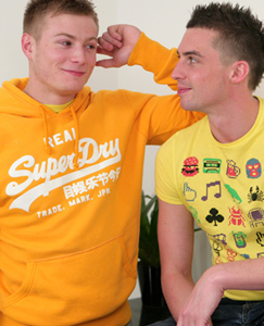 Englishlads.com: Straight Muscular Pup Dan Fucks & Kisses for the first time! Lucky Sam!
