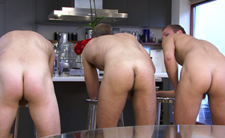 Zack Elliot & Liam James & Hayden Harris Three of Your Favourite Str8 hunks get a Right Good Rimming!