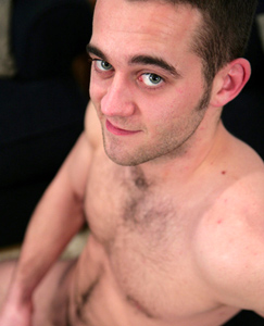 Englishlads.com: Hairy Favourite Bezza & His Chunky Uncut Cock