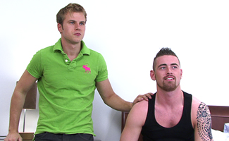 BONUS VIDEO - Hayden fucks Tom - Video of the photoshoot