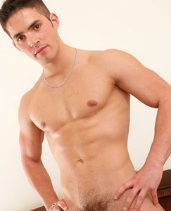 Englishlads.com: Hot straight stud Jerry poses in his bulging briefs before wanking hard