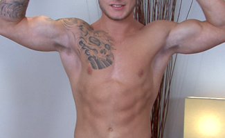 Cage Fighting Pro Jake - One Ripped & Toned Hunk with a Massive Uncut Cock with a Lethal Fire!