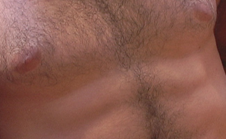 Muscular and Toned Hairy Hunk Jerry Vale